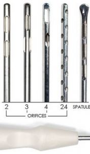 Liposuction Cannula sterile single-use Tip styles
