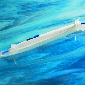 Electrosurgery smoke removal tube
